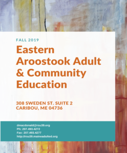 Eastern Aroostook Adult & Community Education image #416